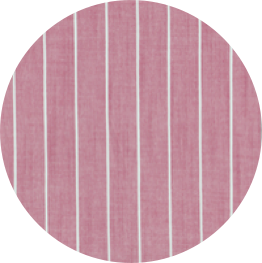 red chambray stripe